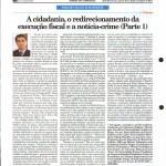 Rausch Mainenti - A cidadania, o redirecionamento da execução fiscal e a notícia-crime -  Parte 01