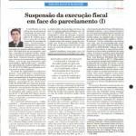 Rausch Mainenti - Artigos - Suspensão da execução fiscal em face do parcelamento - Parte 01